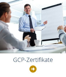 GCP-Zertifikate Clinical Research Organisation